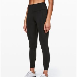 """Lululemon Fast and Free Tight II 25"""" size 8"""